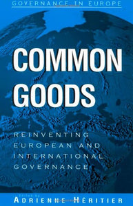 Common Goods: Reinventing European Integration Governance (Governance in Europe Series)