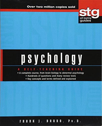 Psychology: A Self-Teaching Guide