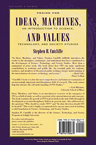 Ideas, Machines, and Values: An Introduction to Science, Technology, and Society Studies