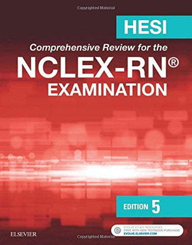 Hesi Comprehensive Review For The Nclex-Rn Examination, 5E