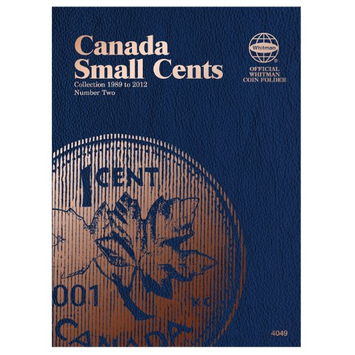 Canadian Small Cent Folder #2, 1898-2012