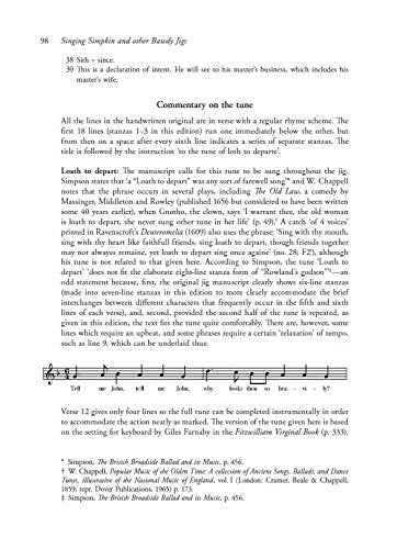 Singing Simpkin and Other Bawdy Jigs: Musical Comedy on the Shakespearean Stage: Scripts, Music and Context (Exeter Performance Studies)