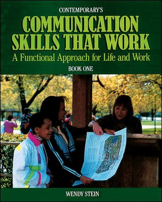 Contemporary's Communication Skills That Work: A Functional Approach for Life and Work : Book One