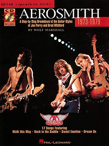 Aerosmith 1973-1979 (Signature Licks Guitar)