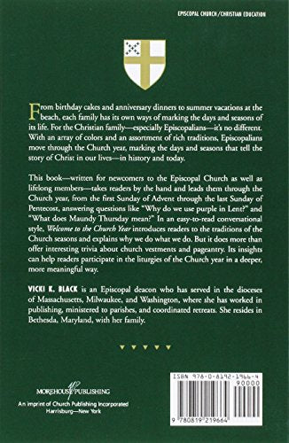 Welcome to the Church Year: An Introduction to the Seasons of the Episcopal Church (Welcome to the Episcopal Church)