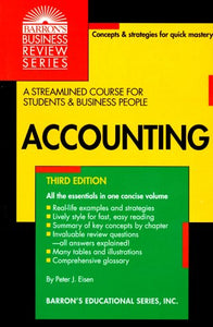 Accounting (Barron's Business Review Series)
