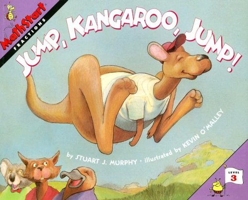 Great Source Mathstart: Student Reader Jump Kangaroo Jump! Fractions (Mathstart: Level 3 (HarperCollins Paperback))