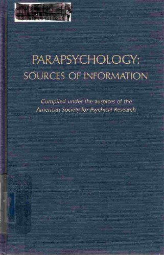 Parapsychology: Sources of Information