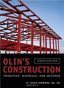 Olin'S Construction: Principles, Materials, And Methods