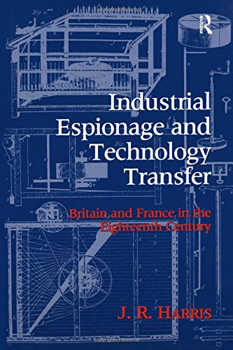 Industrial Espionage and Technology Transfer: Britain and France in the 18th Century