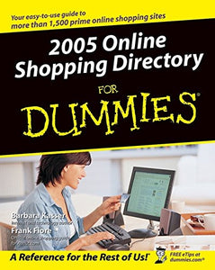 2005 Online Shopping Directory For Dummies (For Dummies (Computers))