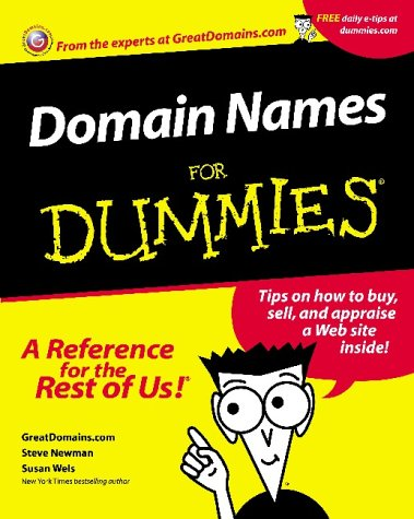 Domain Names For Dummies? (For Dummies (Computers))
