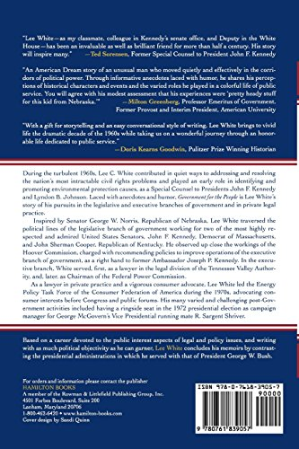 Government for the People: Reflections of a White House Counsel to Presidents Kennedy and Johnson