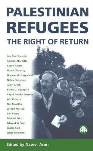 Palestinian Refugees: The Right of Return (Pluto Middle Eastern Studies,)