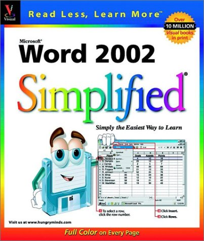 Word 2002 Simplified (Simplified (Wiley))