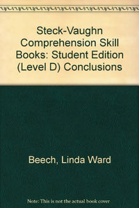 Comprehension Skills - Conclusion: Level D
