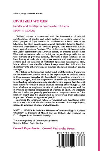 Civilized Women: Gender and Prestige in Southeastern Liberia (The Anthropology of Contemporary Issues)