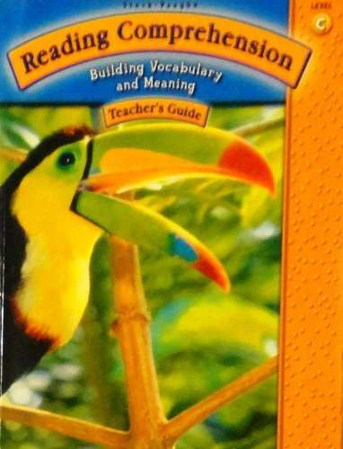 Steck-Vaughn Reading Comprehension: Student Workbook Grade 3 (Level C) 2003