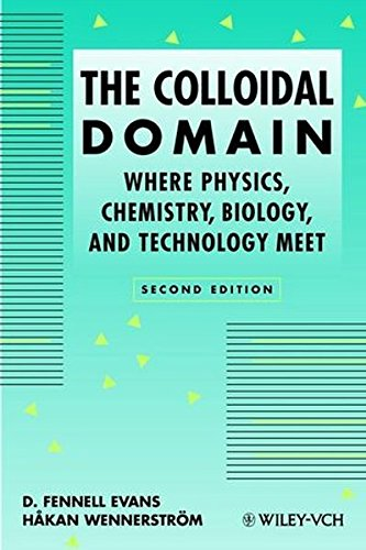 The Colloidal Domain: Where Physics, Chemistry, Biology, And Technology Meet