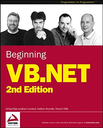 Beginning VB.NET (Programmer to Programmer)