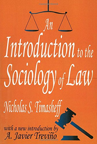 An Introduction to the Sociology of Law (Law & Society Series)