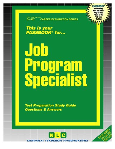Job Program Specialist(Passbooks) (Career Examination Passbooks)