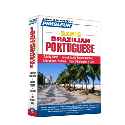 Portuguese (Brazilian), Basic: Learn to Speak and Understand Brazilian Portuguese with Pimsleur Language Programs