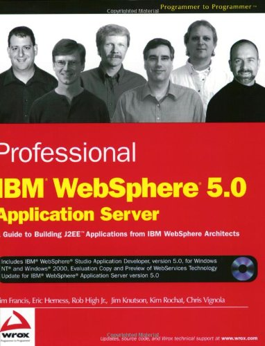 Professional IBM WebSphere 5.0 Application Server