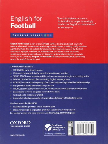 Express Series: English for Football: A short, specialist English course
