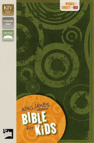 KJV, Bible for Kids, Imitation Leather, Green