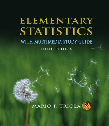 Elementary Statistics With Multimedia Study Guide Plus Mymathlab/Mystatlab Student Access Kit (10Th Edition)