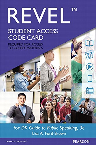 REVEL for DK Guide to Public Speaking--  Access Card (3rd Edition)