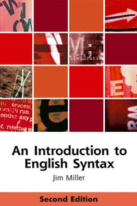 An Introduction to English Syntax (Edinburgh Textbooks on the English Language)