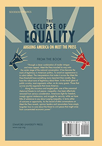 The Eclipse of Equality: Arguing America on <I>Meet the Press</I>