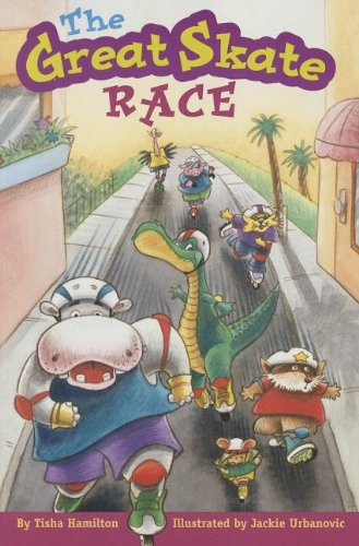 THE GREAT SKATE RACE, SINGLE COPY, VERY FIRST CHAPTERS