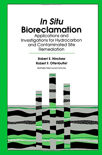 In Situ Bioreclamation: Applications and Investigations for Hydrocarbon and Contaminated Site Remeation (v. 1)