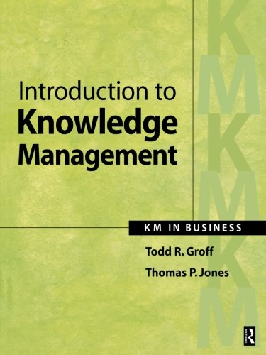 Introduction to Knowledge Management
