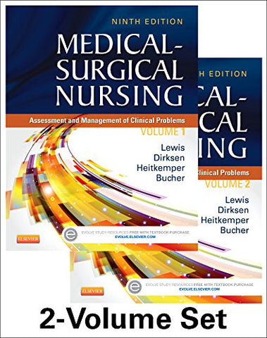 Medical-Surgical Nursing - 2-Volume Set: Assessment And Management Of Clinical Problems, 9E (Medical- Surgical Nursing (Lewis) 2 Vol Set)