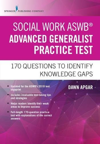 Social Work ASWB Advanced Generalist Practice Test: 170 Questions to Identify Knowledge Gaps