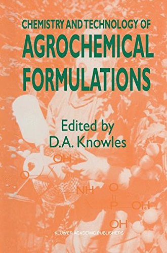 Chemistry and Technology of Agrochemical Formulations