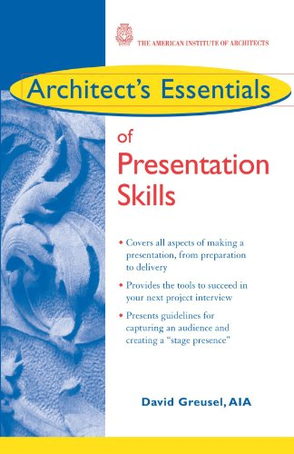 Architect'S Essentials Of Presentation Skills