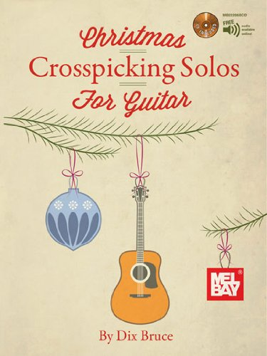 Christmas Crosspicking Solos for Guitar Book/CD Set