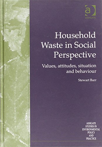 Household Waste in Social Perspective: Values, Attitudes, Situation and Behaviour (Routledge Studies in Environmental Policy and Practice)
