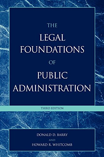 The Legal Foundations of Public Administration