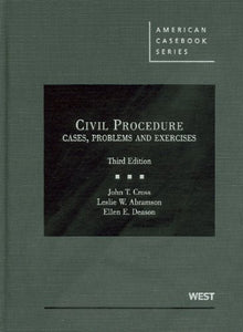 Civil Procedure : Cases, Problems And Exercises (American Casebook)