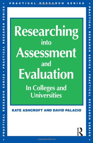 Researching into Assessment & Evaluation (Practical Research Series)