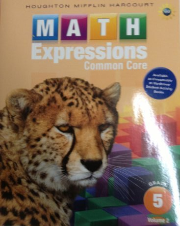Math Expressions: Student Activity Book, Volume 2 (Hardcover) Grade 5
