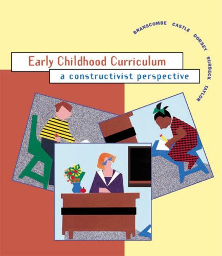Early Childhood Curriculum: A Constructivist Perspective