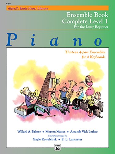 Alfred's Basic Piano Course: Ensemble Book, Level 1 (Complete, 1A/1B)