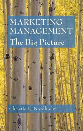 Marketing Management : The Big Picture